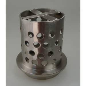 CILINDRI acciaio forato - FLANGIA mm Ø 80 X h 130